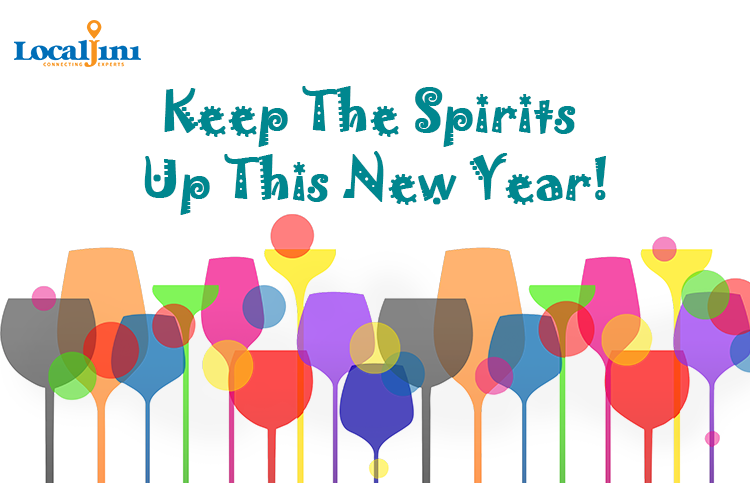Keep The Spirits Up This New Year!